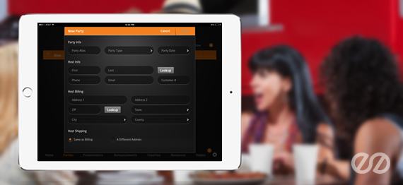 Salesfactor increases party planners abilities